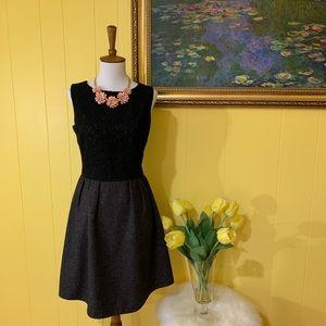 Black Pim + Larkin A-line dress
